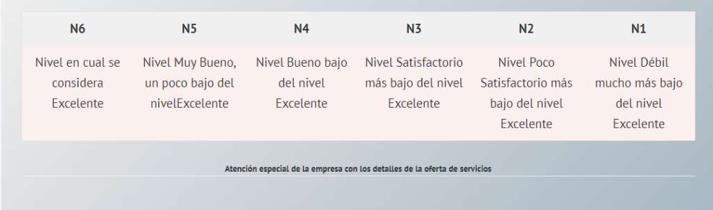 Niveles de Servicios Marketing B2B